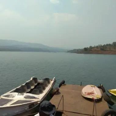 Boating at Panshet Dam