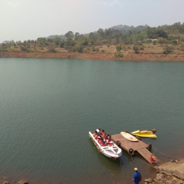 People getting ready for boating ride