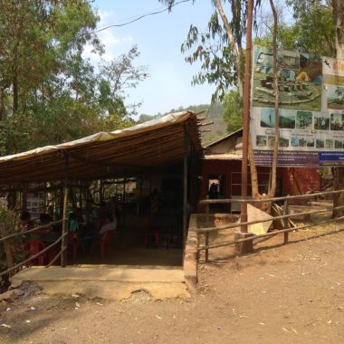 Small Hotel near Panshet Dam boating