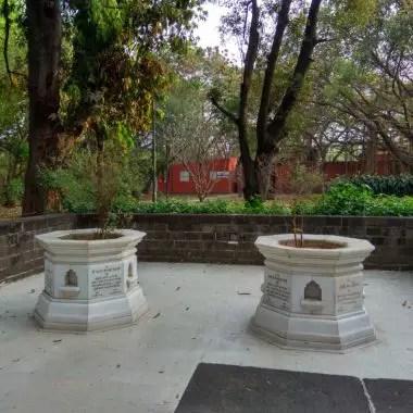 Kasturba Gandhi's Samadhi