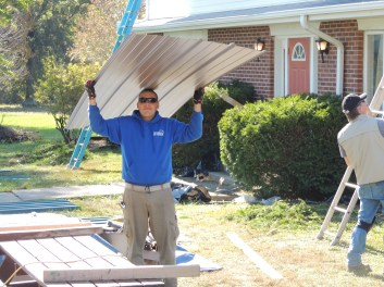 Foundation grant supports new roof at Open Arms