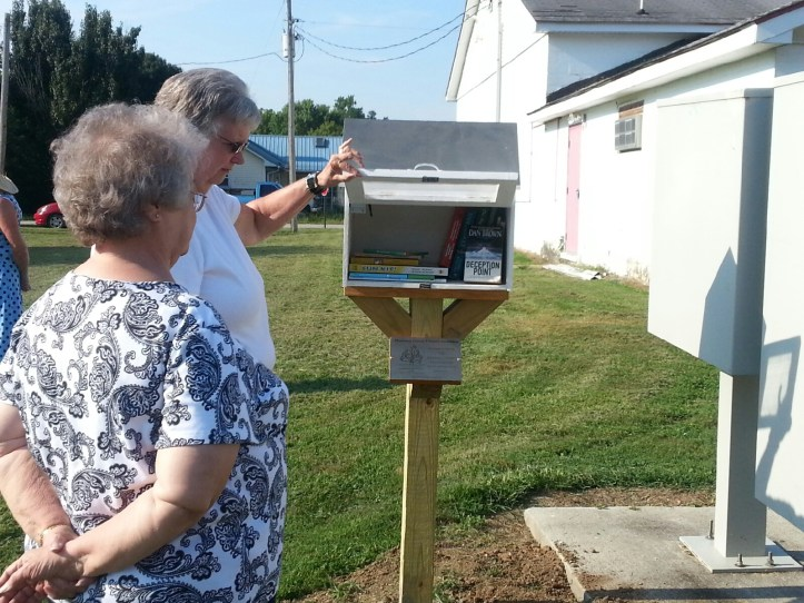 Greene County Literacy Coalition creates 16 free little libraries - one for each township in the county