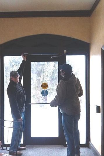 Helping the Carnegie Heritage Center become handicap accessible