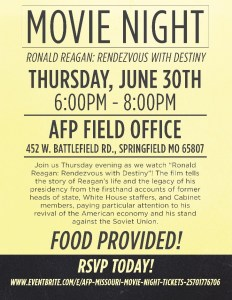 AFP Movie Night June