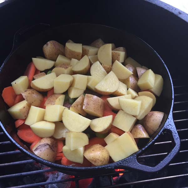 Big Green Egg Pot Roast