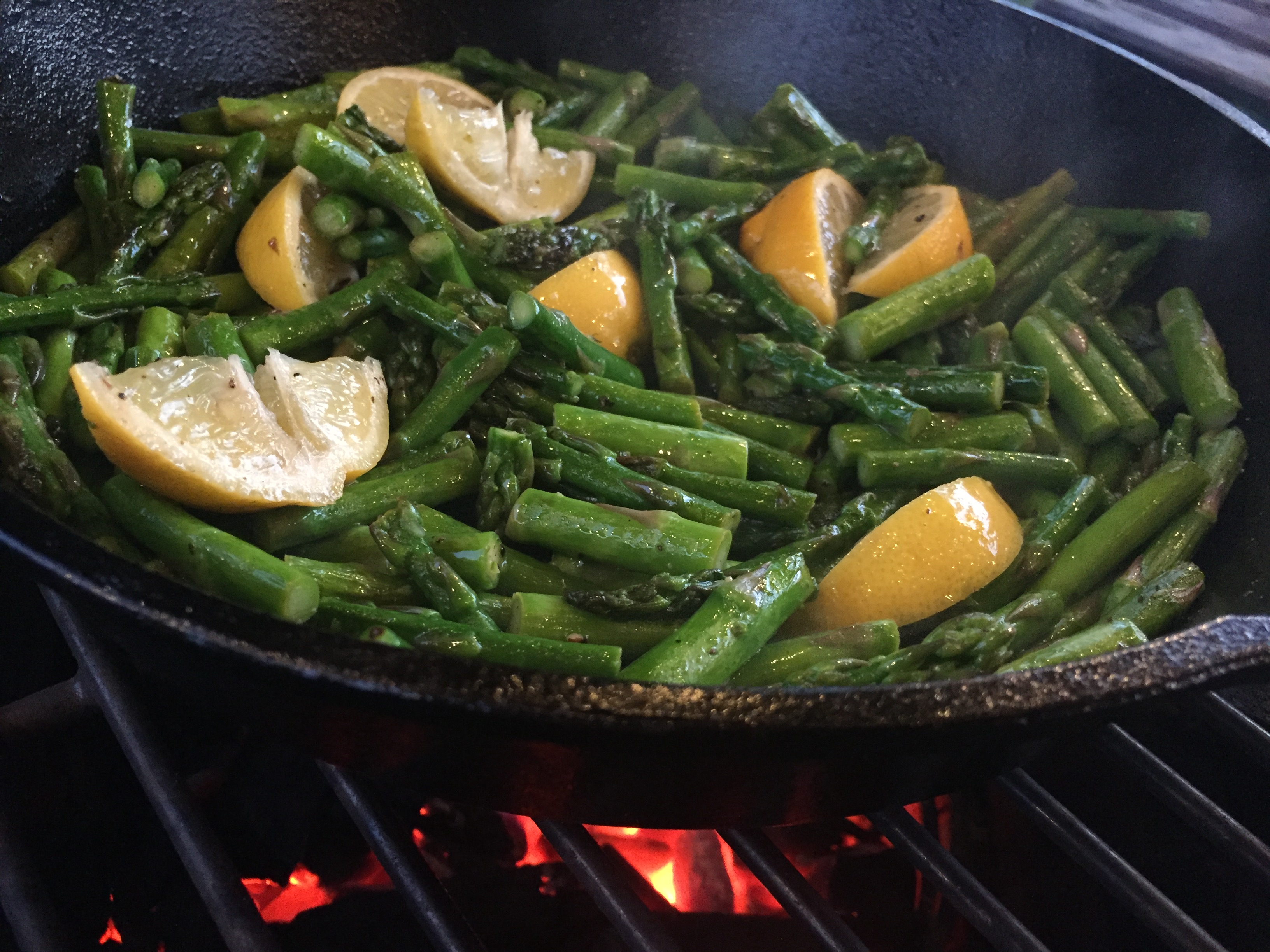 Recipe: Lemon Asparagus