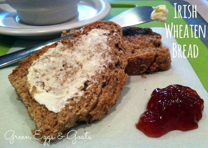 Irish Wheaten Bread with Jam and Butter