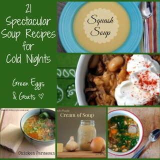21Spectacular Soup Recipes for Cold Night. Brothy, creamy or hearty, there is a soup on this list for everyone!
