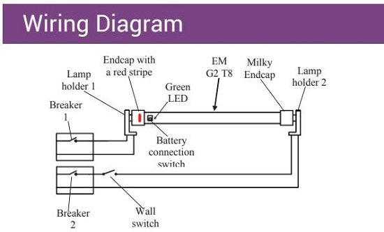 Wiring Diagram Emergency Lights