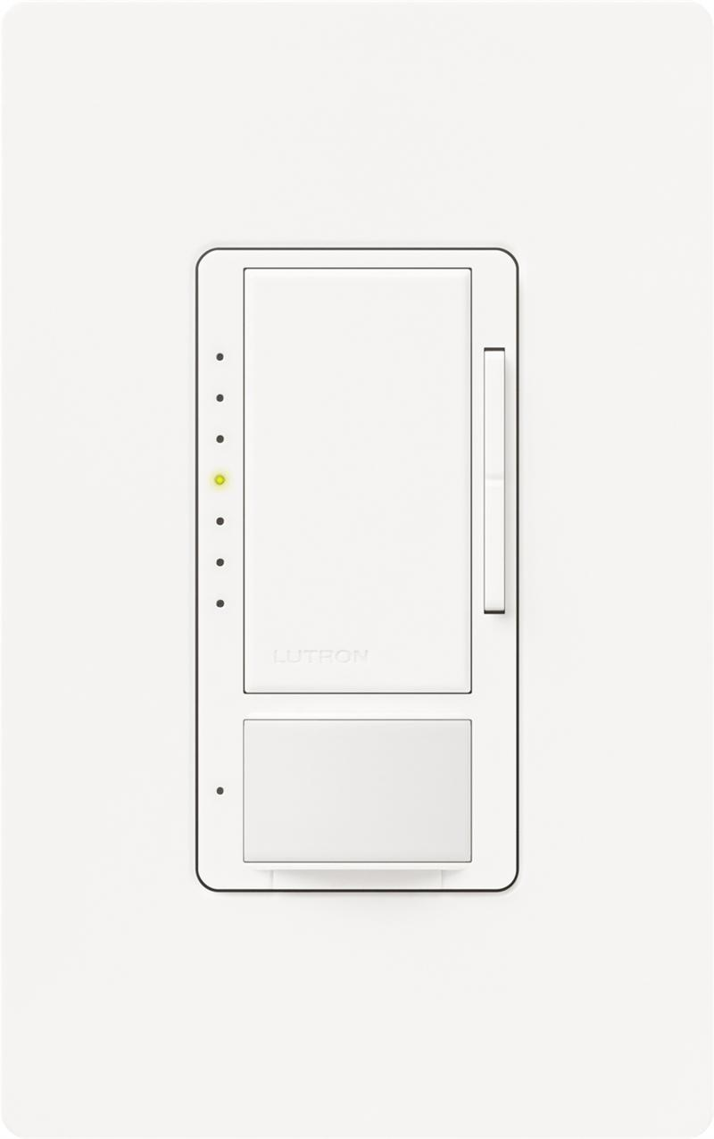 Lutron MSCL-OP153M-WH White Maestro CL Occupancy/Vacancy