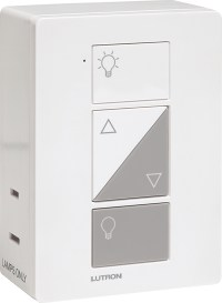Lutron Caseta PD-3PCL-WH plug-in wireless dimmer switch ...