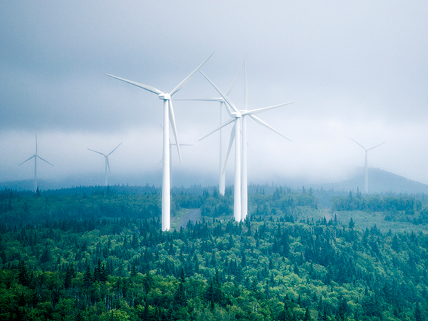 Wind farm in Quebec (Photo: iStockphoto)