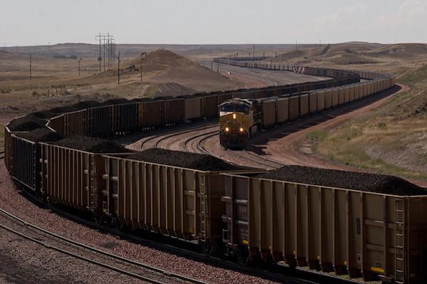 Coal trains (Photo: Kimon Berlin via flickr.com, creative commons license)
