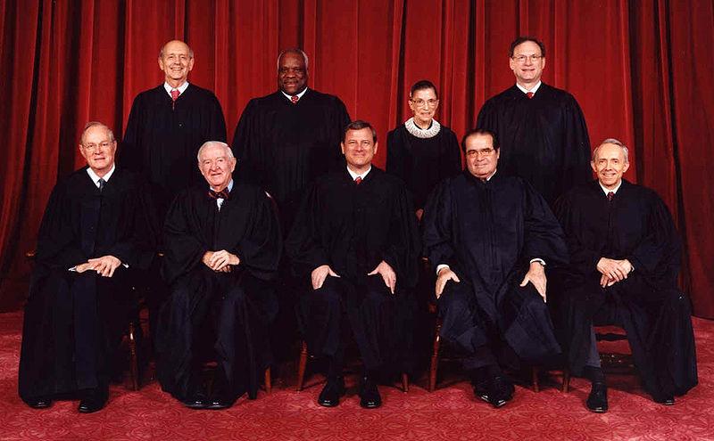 Supreme court in 2006 (Steve Petteway, Wikimedia Commons)