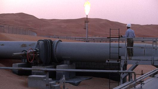 Oil site in Saudi Arabia (Reza | Getty Images)