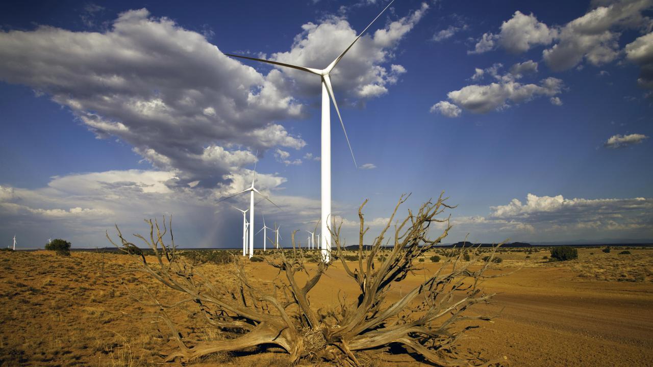Dry Lake wind project in Arizona (DOE photo)