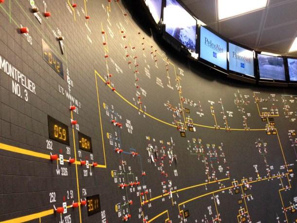 GMP control room (Photo: John Herrick | VTDigger)