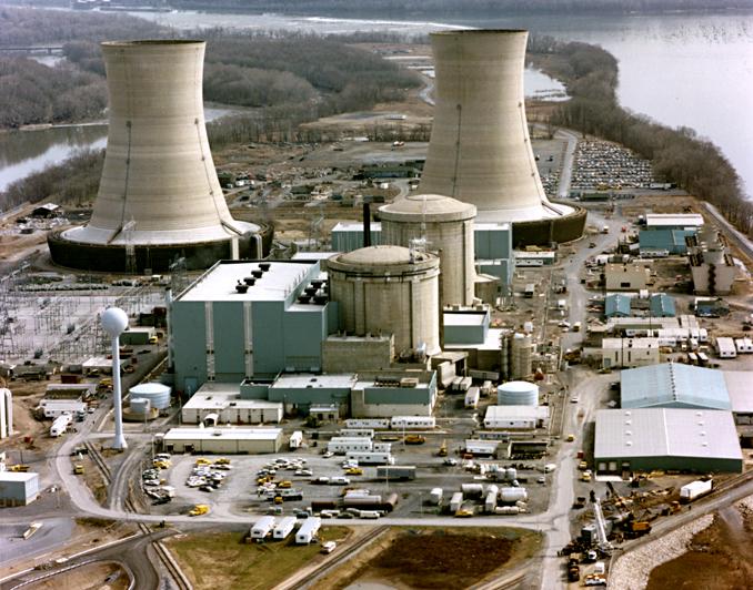 Three Mile Island nuclear plant (US DOE image)