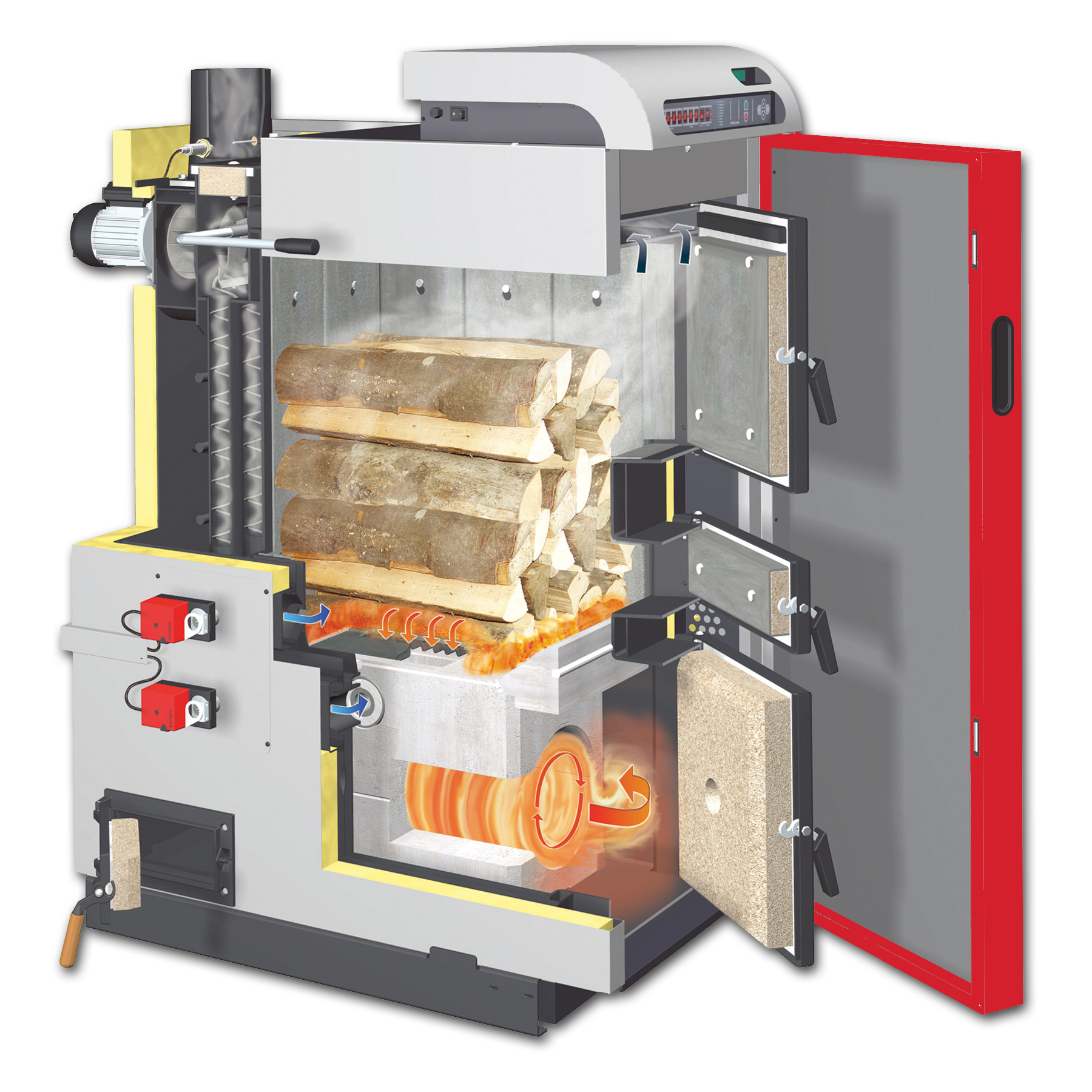 hight resolution of wood boiler installation diagram