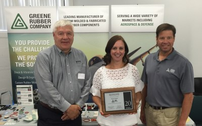Greene Rubber Celebrates 20 Years with Parker Engineered Materials Group!