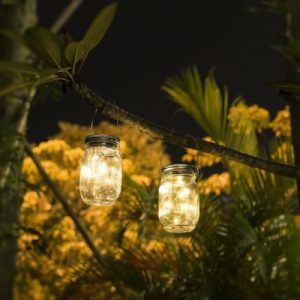 Hanging Solar Mason Jars Apartment Living [tag]