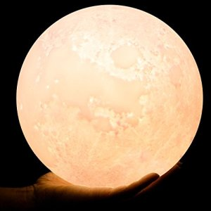Glowing Moon Lamp Apartment Living [tag]