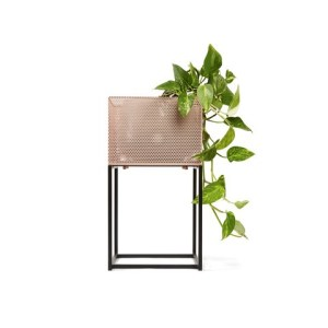 Blush Mesh Pot Stand Apartment Living [tag]