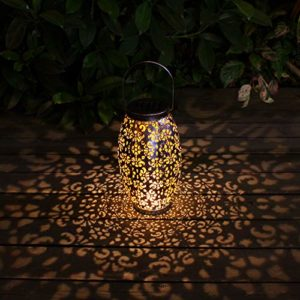 Solar Lantern Lights Apartment Living [tag]