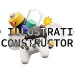 3D illustrations constructor