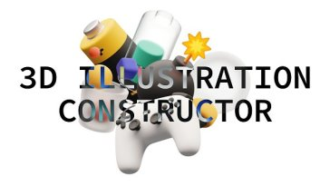 3D illustrations constructor