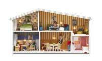 Miniature Furniture. Dollhouse size  Green Faerie Tree