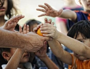 Vom glücklichen Kind zum Flüchtling