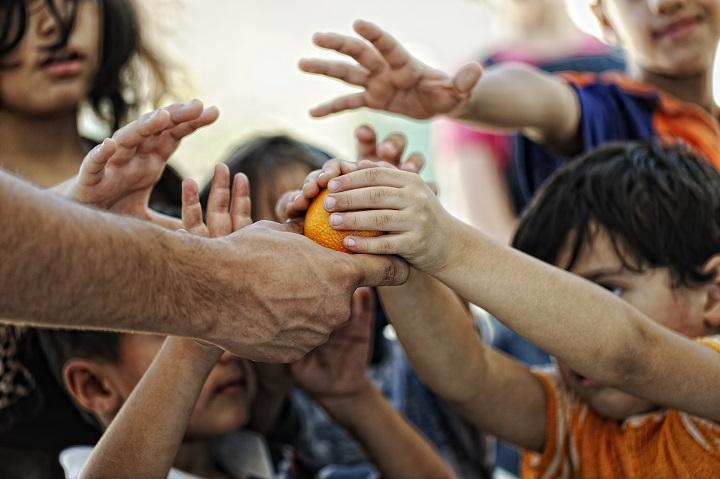 Symbolbild Flüchtlingskinder © Bildagentur PantherMedia zurijeta
