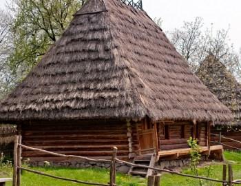 Ein Haus aus Stroh