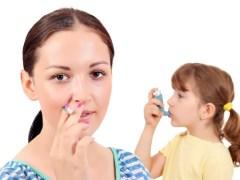 An die Mutter mit der Zigarette