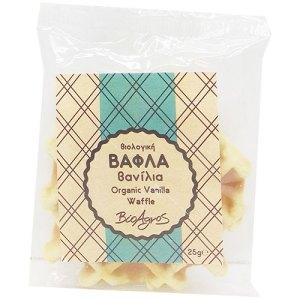 Βιολογικά αρτοσκευάσματα - Βάφλα - Μπισκότα
