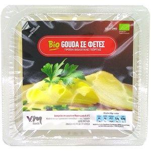 Βιολογικό τυρί gouga σε φέτες