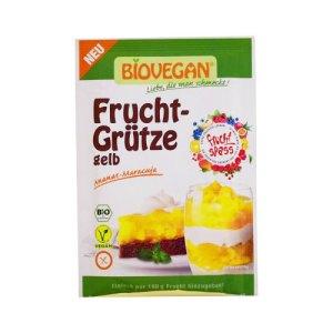 βιολογικό ζελέ κίτρινων φρούτων BIOVEGAN