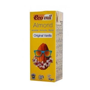 βιολογικό ρόφημα αμυγδάλου βανίλια Ecomil