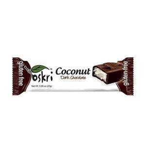 βιολογική μπάρα καρύδας – μαύρη σοκολάτα
