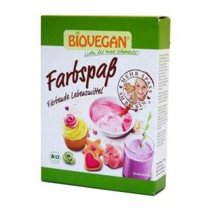 βιολογικά χρώματα τροφίμων της biovegan