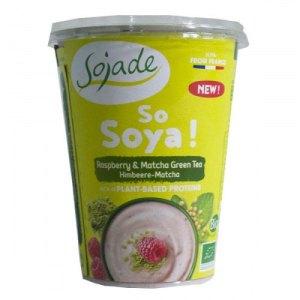 βιολογικό γιαούρτι σόγιας βατόμουρο – τσάι μάτσα της Sojade