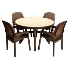 Coffee Table With Chairs Folding Chair Yellow Toscana 120 Ravenna 04 Beta