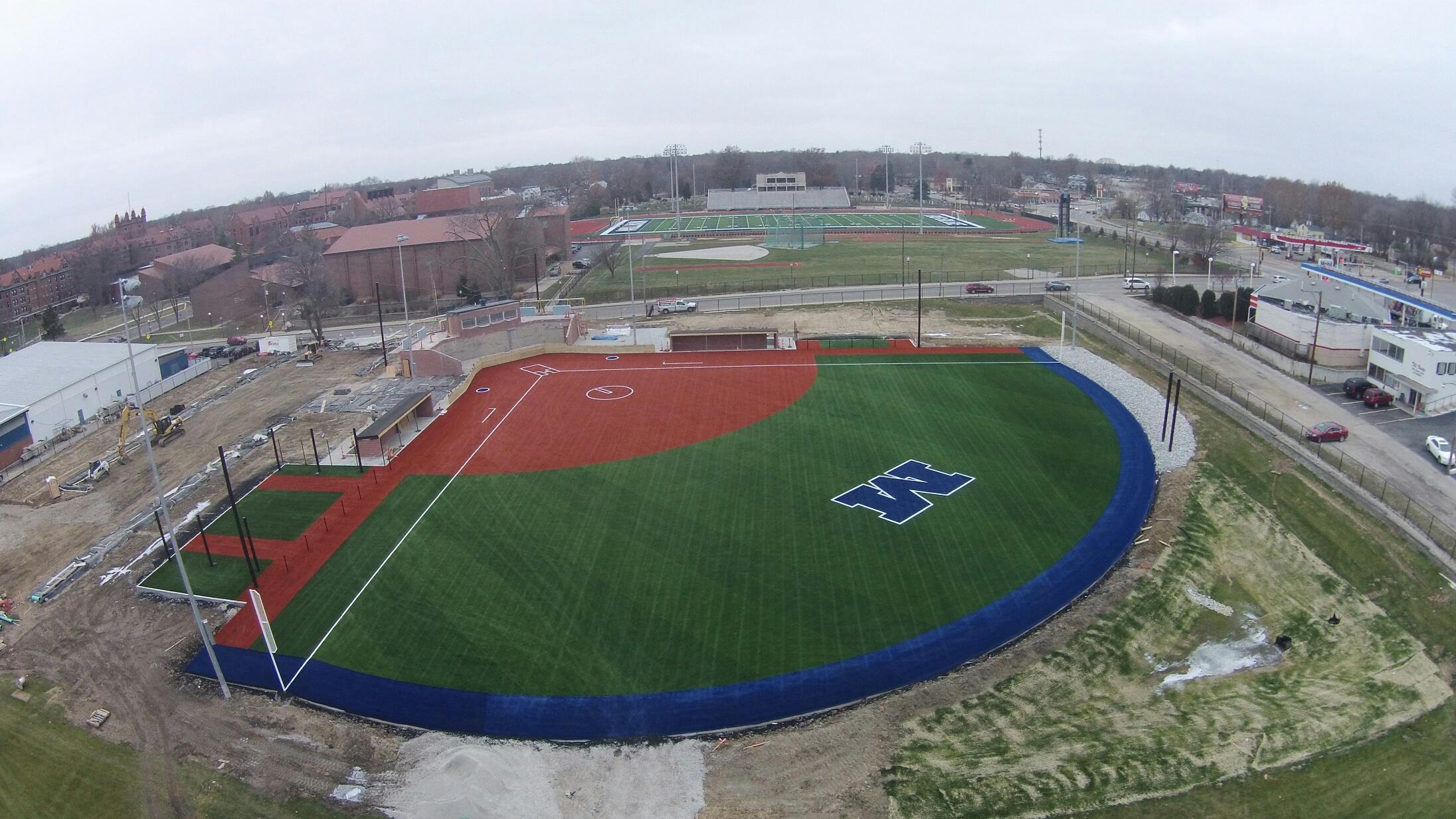 Millikin University Softball GreenFields The Green