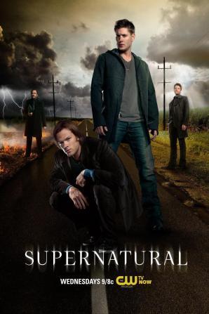 P1061-Supernatural-Plakat-Dean-Wester-I-Sam-Na-Drodze-40x60-cm