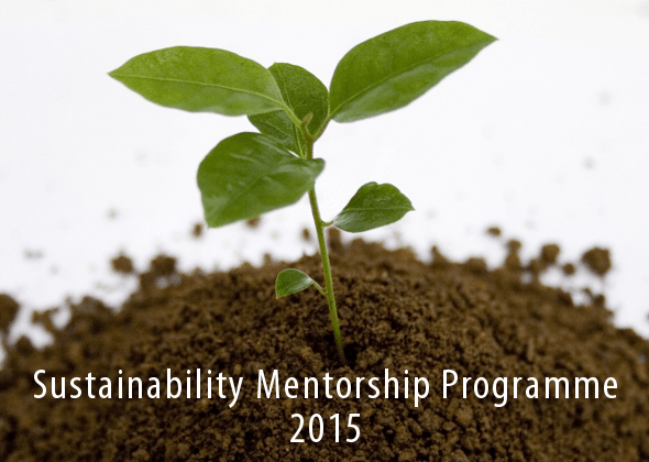 Sustainability Mentorship Programme 2015