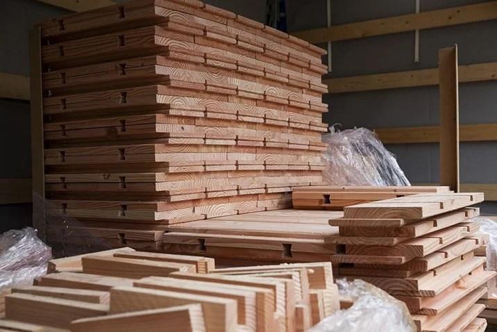Brikawood Okologische Hauser Aus Holz Bausteinen
