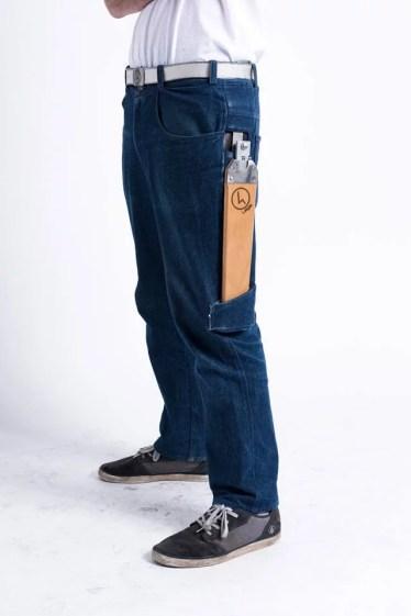 Die Hose - mit großen Taschen. (Foto: 4Legs)