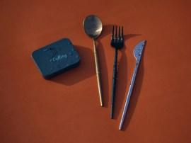 Alternative zum Plastik-Besteck. (Foto: Outlery)