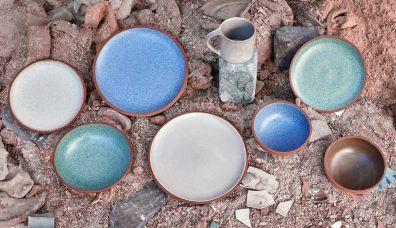 Die Farben entstehen durch die verwendeten Materialien. (Foto: Granby Workshop)